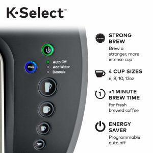 keurig kselect buttons